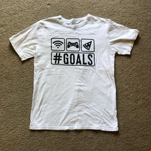 Boys XXL children's place #goals tee